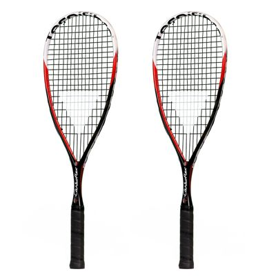 Tecnifibre Carboflex Junior Squash Racket Double Pack
