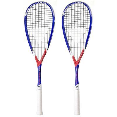 Tecnifibre Carboflex X-Speed 125 NS Squash Racket Double Pack - Main