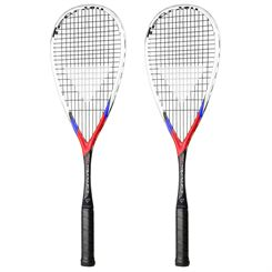 Tecnifibre Carboflex X-Speed 130 Squash Racket Double Pack