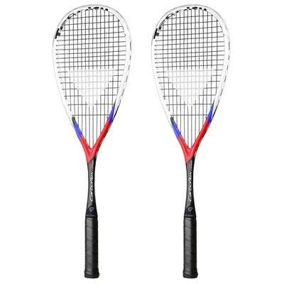 Tecnifibre Carboflex X-Speed 130 Squash Racket Double Pack - Main