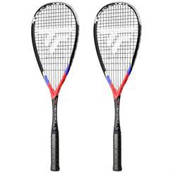 Tecnifibre Carboflex X-Speed 135 Squash Racket Double Pack