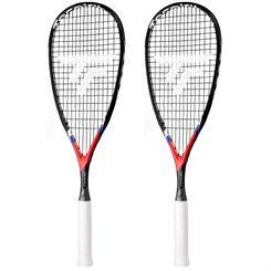 Tecnifibre Carboflex X-Speed Junior Squash Racket Double Pack