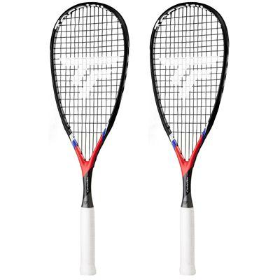 Tecnifibre Carboflex X-Speed Junior Squash Racket Double