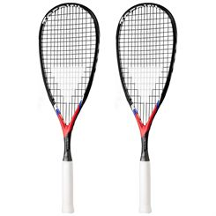 Tecnifibre Carboflex X-Speed Junior Squash Racket Double Pack