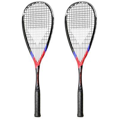 Tecnifibre Carboflex X-Speed Storm Squash Racket Double Pack - Main