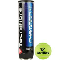 Tecnifibre Champion One Tennis Balls - Tube of 4
