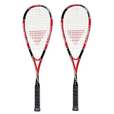 Tecnifibre Combat Squash Racket Double Pack