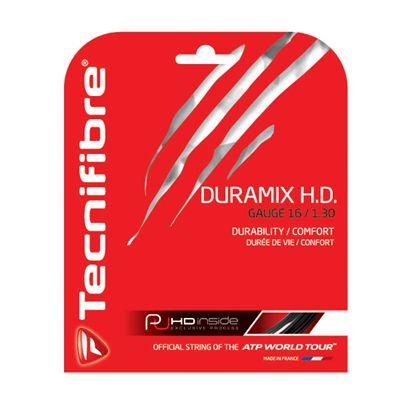 Tecnifibre Duramix HD String Set-12m-Black-1.30mm