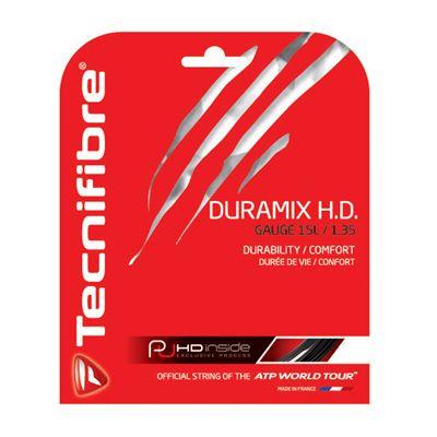 Tecnifibre Duramix HD String Set-12m-Black-1.35mm