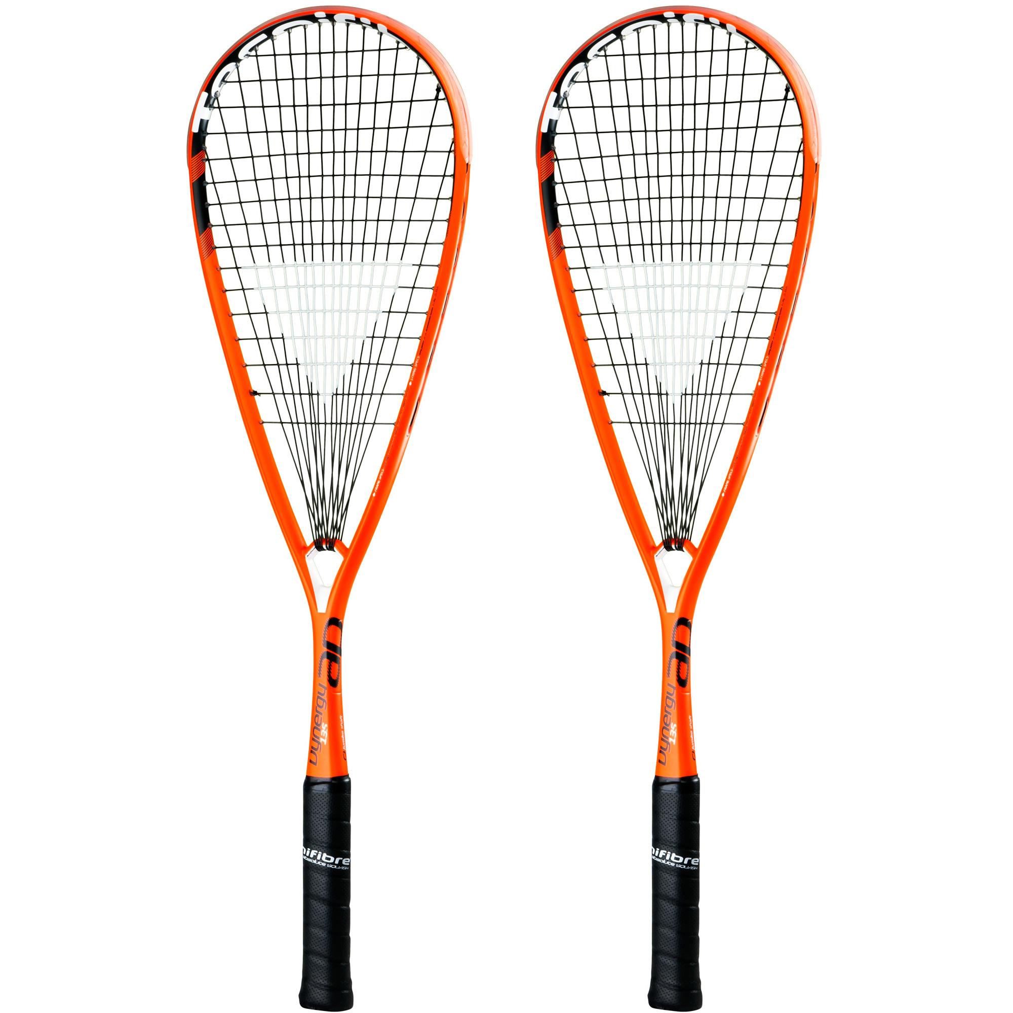 Tecnifibre Dynergy AP 135 Squash Racket Double Pack