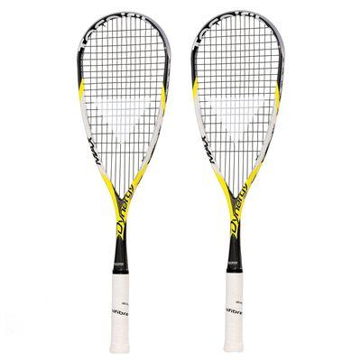 Tecnifibre Dynergy Max 145 Flexarm Squash Racket Double Pack