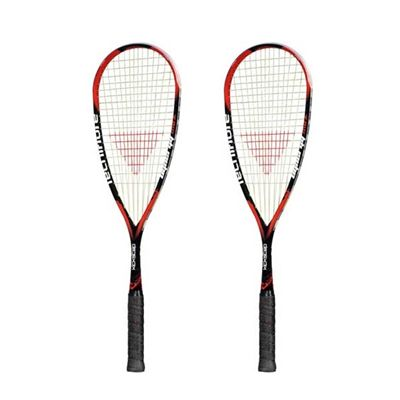 Tecnifibre Dynergy Max 145 Kickstep Squash Racket Double Pack