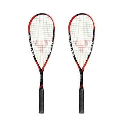Tecnifibre Dynergy Max 145 Kickstep Squash Racket Double Pack