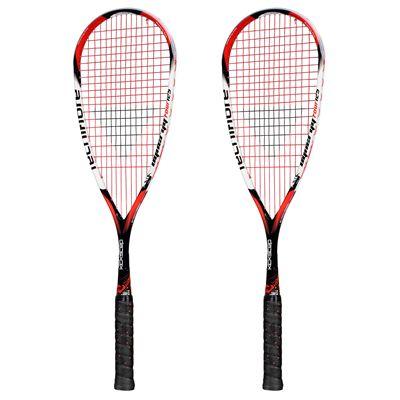Tecnifibre Dynergy Tour 125 Squash Racket - Double Pack - new 2015