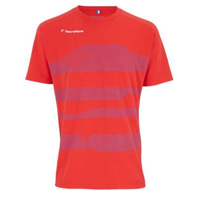 Tecnifibre F1 Boys Stretch T-Shirt - Red