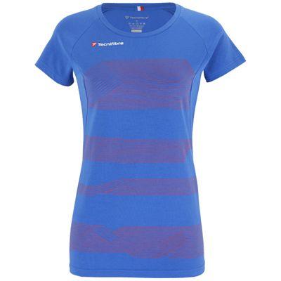 Tecnifibre F1 Stretch Girls T-Shirt-Blue