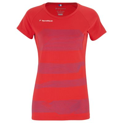 Tecnifibre F1 Stretch Girls T-Shirt-Red