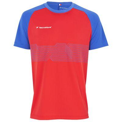Tecnifibre F2 Boys Airmesh T-Shirt - Red