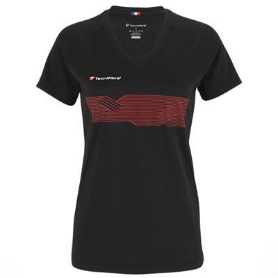 Tecnifibre F2 Girls Airmesh T-Shirt - Black