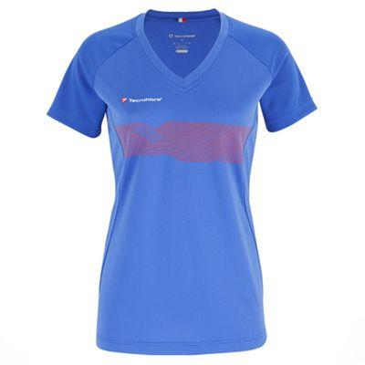 Tecnifibre F2 Girls Airmesh T-Shirt - Blue