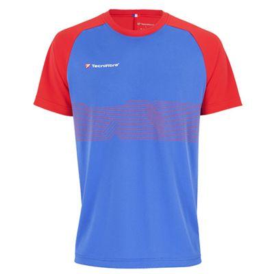 Tecnifibre F2 Mens Airmesh T-Shirt - Blue