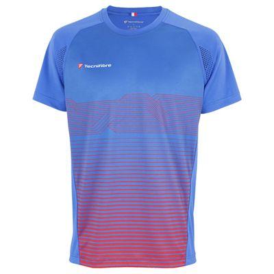 Tecnifibre F4 Mens Laservent T-Shirt - Blue