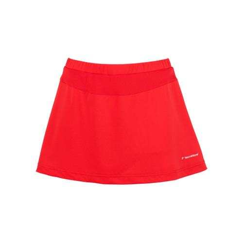 Tecnifibre Girls Cool Skort AW16 - Red, 10 - 12 Years