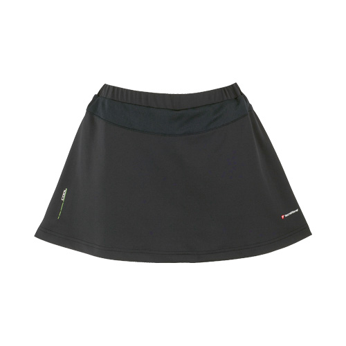 Tecnifibre Girls Cool Skort - Black, 10 - 12 Years