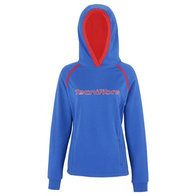 Tecnifibre Fleece Ladies Hoody-Blue
