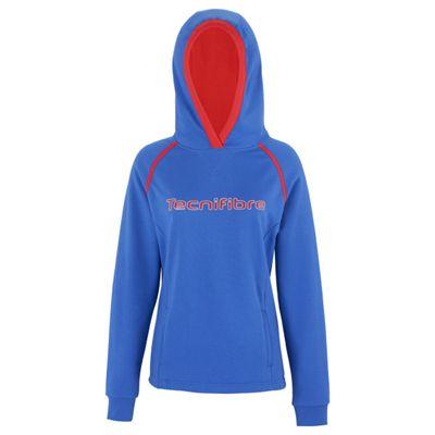 Tecnifibre Fleece Ladies Hoody-Blue