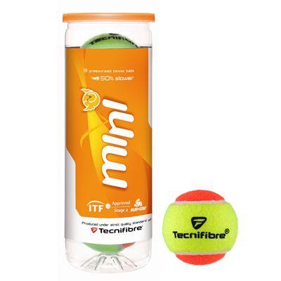 Tecnifibre Mini Tennis Balls - Tube of 3
