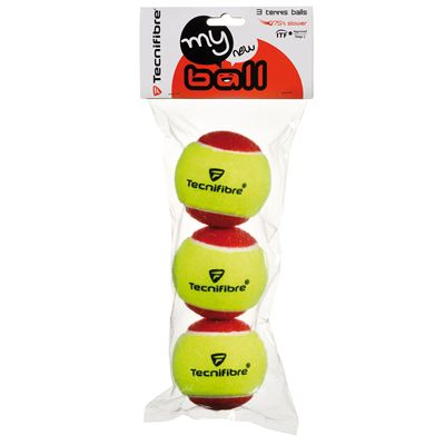 Tecnifibre My New Ball Mini Tennis Balls - Pack of 3