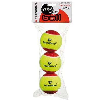 Tecnifibre My New Ball Mini Tennis Balls - Pack of 3