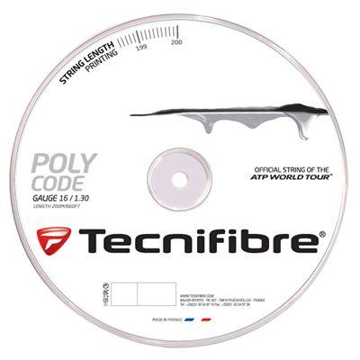 Tecnifibre PolyCode 1.30 Tennis String 200m Reel Silver Image