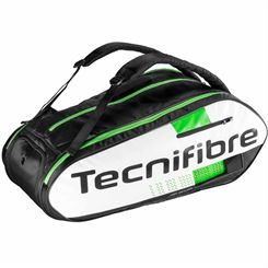 Tecnifibre Squash Green 12 Racket Bag