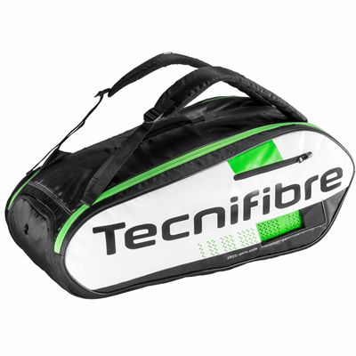 Tecnifibre Squash Green 9 Racket Bag