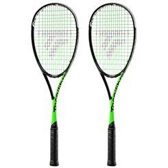 Tecnifibre Suprem 125 CurV Squash Racket Double Pack