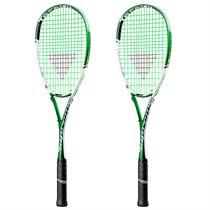 Tecnifibre Suprem 130 Squash Racket Double Pack