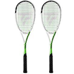 Tecnifibre Suprem 135 CurV Squash Racket Double Pack