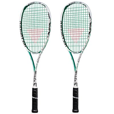 Tecnifibre Suprem Calibur Squash Racket Double Pack