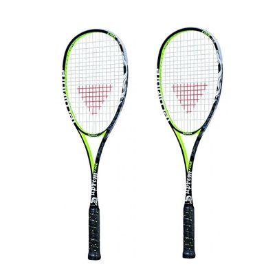 Tecnifibre Suprem Fire 160 - Squash Racket Double Pack