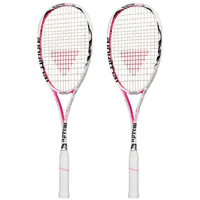 Tecnifibre Suprem Ruby Squash Racket Double Pack