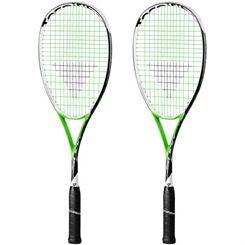 Tecnifibre Suprem SB 135 Squash Racket Double Pack