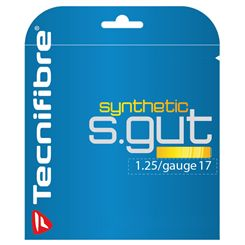Tecnifibre Synthetic Gut 1.25 Tennis String Set
