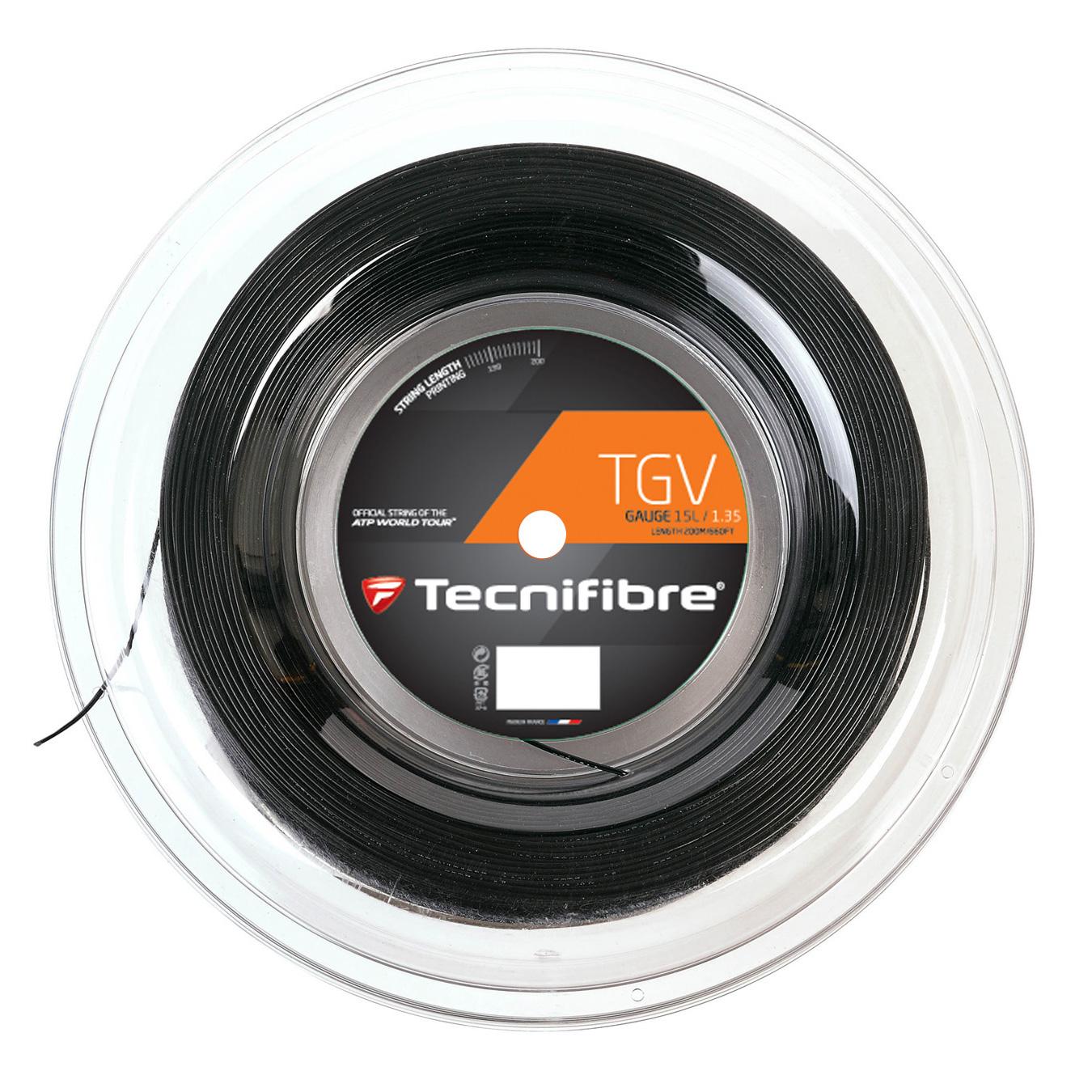 Tecnifibre TGV 1.35 Tennis String 200m Reel - Black