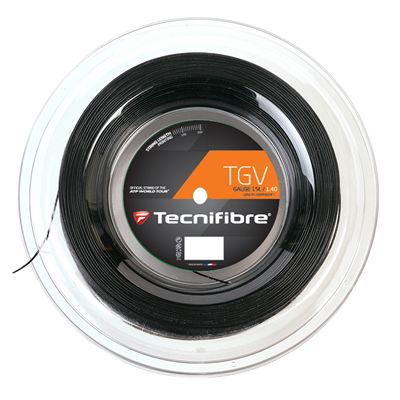 Tecnifibre TGV String Reel-200m-Black-1.40mm