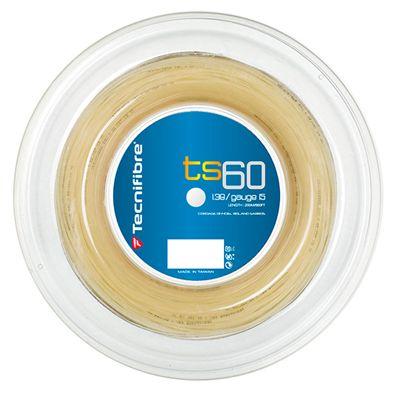 Tecnifibre TS60 1.38 Tennis String 200m Reel - Natural