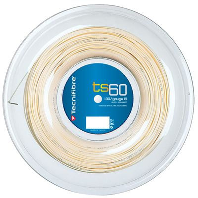 Tecnifibre TS60 1.38 Tennis String 200m Reel - White