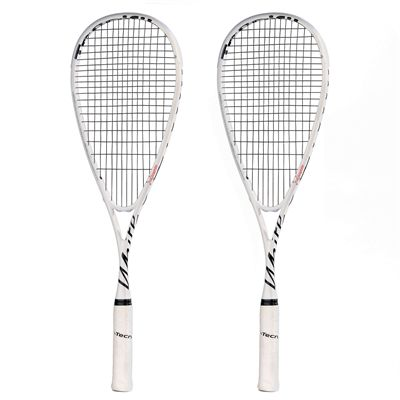 Tecnifibre White Squash Racket Double Pack