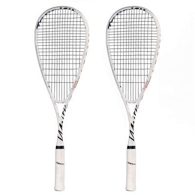 Tecnifibre White Squash Racket Double Pack